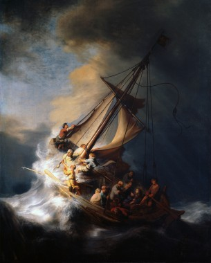 Rembrandt_Christ_in_the_Storm_on_the_Lake_of_Galilee Wikimedial Commons