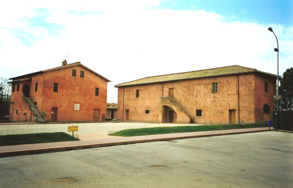 The Cascina Antica, were Maria Goretti was brutally stabbed.