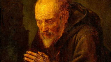 Hermit Praying: growing in prayer post